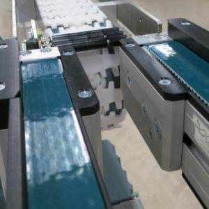 Toothed belt conveyor - modular automation