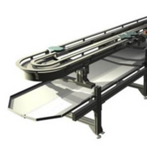 Drip channels for chain conveyor system - modular automation