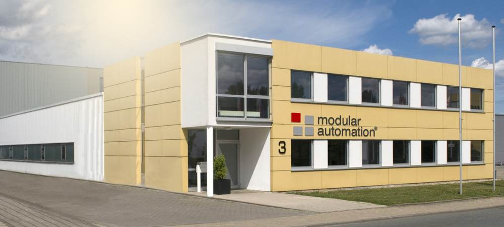 company building: modular automation in Darmstadt, Germany