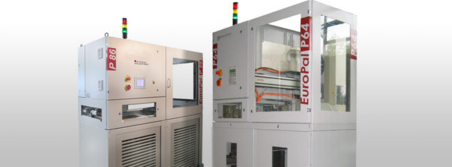 EuroPal palletizers for the automotive industry from modular automation