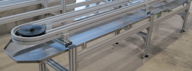 Drip tray for conveyor systems