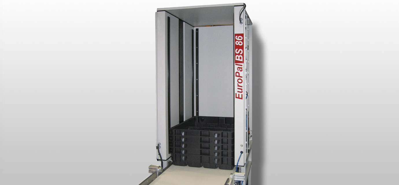 container stacker - box stacker for automatic stacking