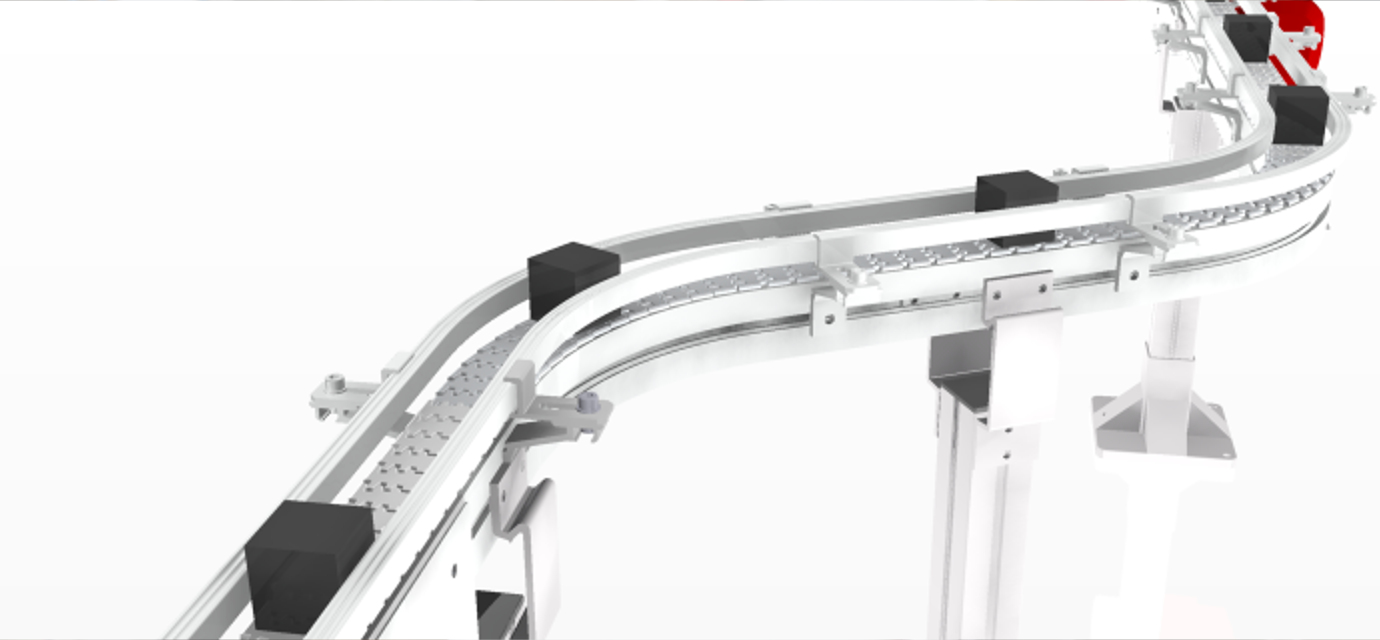 Horizontal and vertical plain bends from modular automation