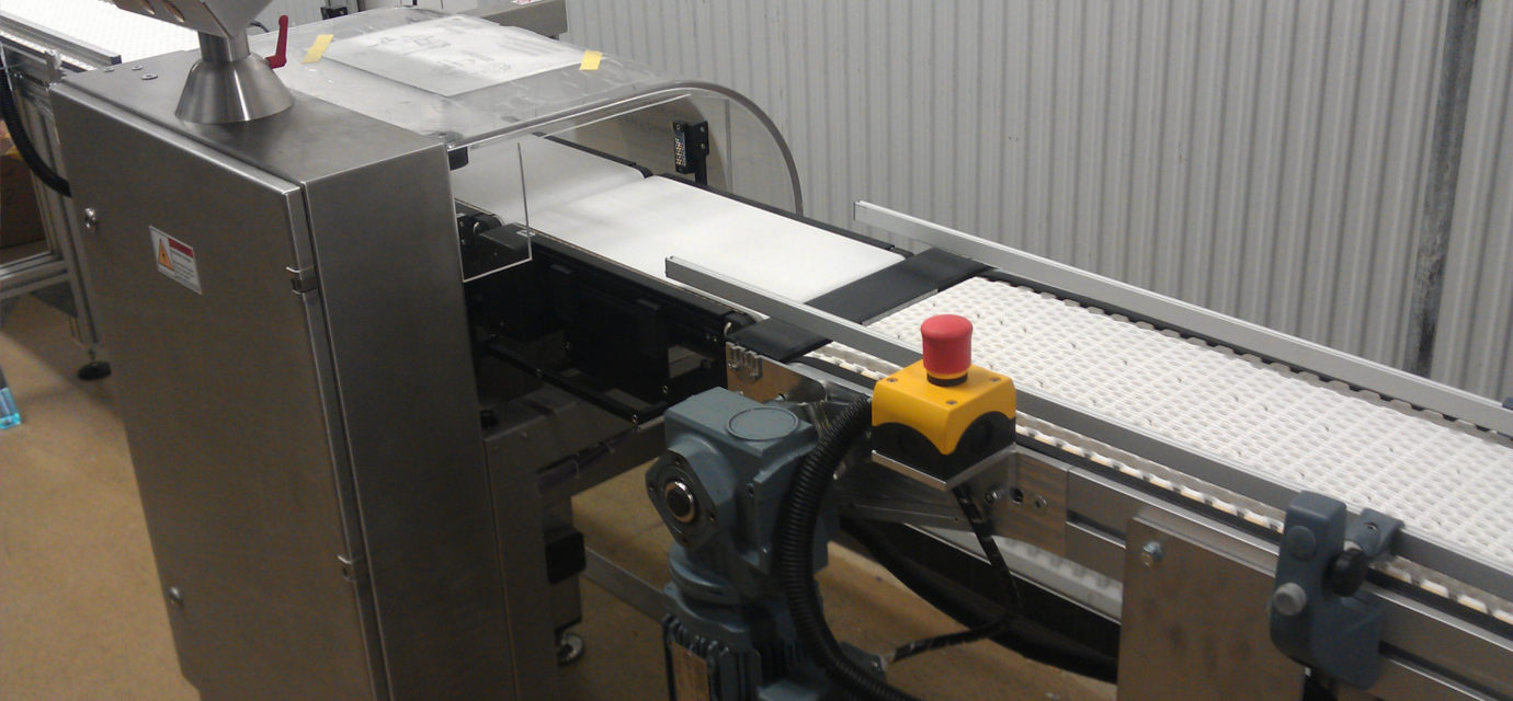 Modular belts conveyors in action