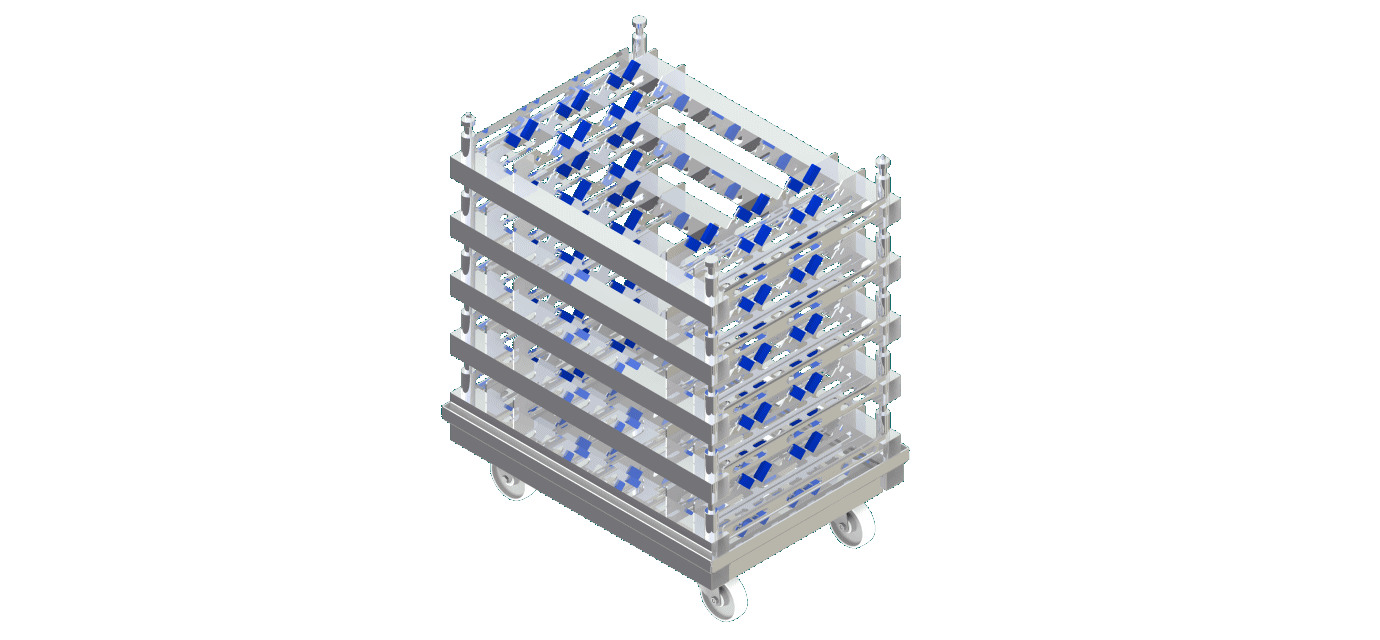 EuroPal pallet trolley - modular automation