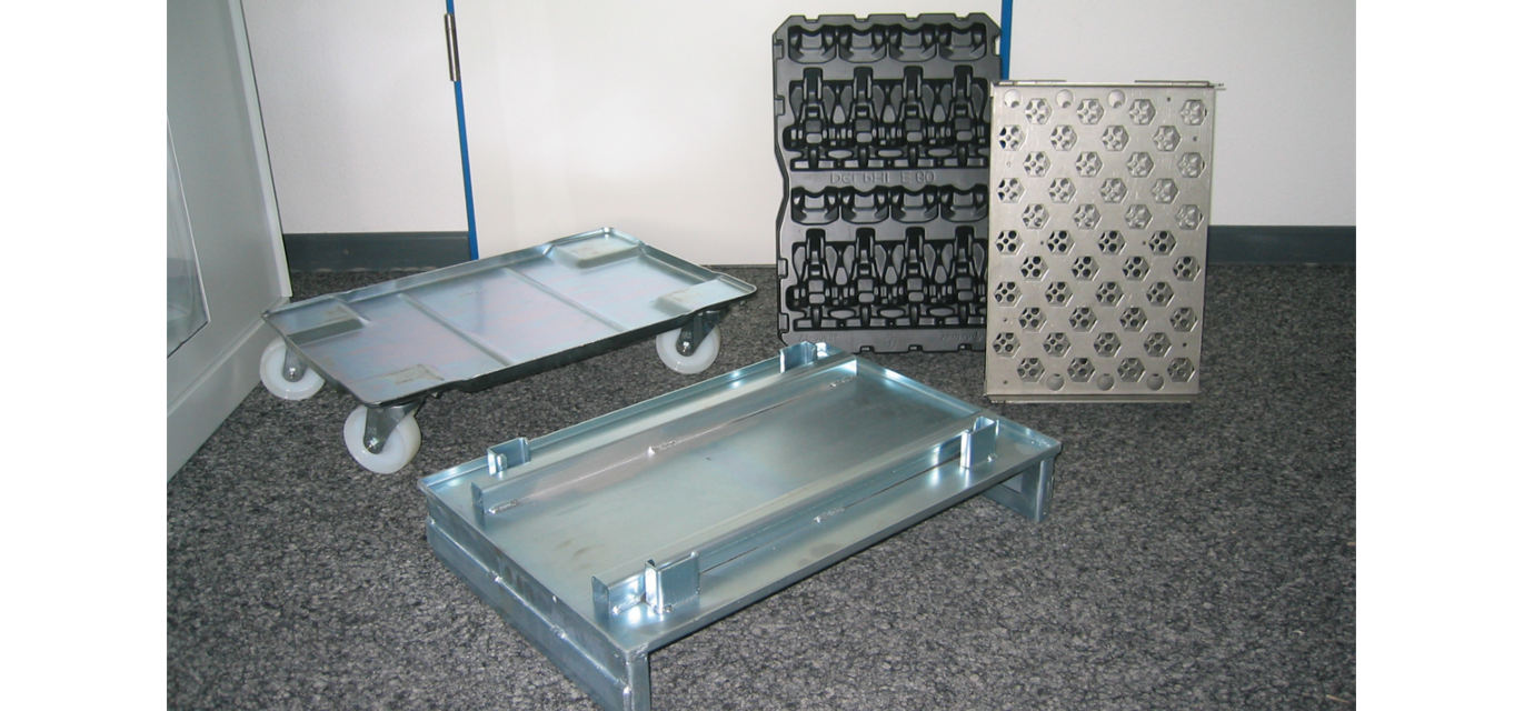 pallets and workpiece carriers