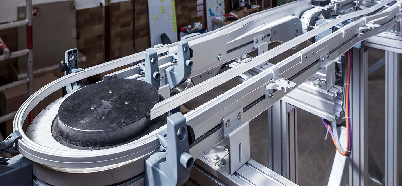 Hinge chain conveyors - conveyor technology from modular automation